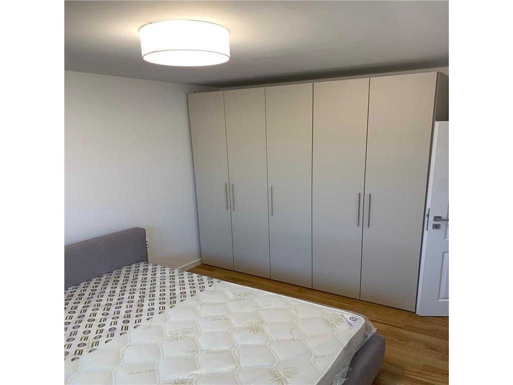 2 dormitoare, totul nou, mobilat/utilat, 58 mp