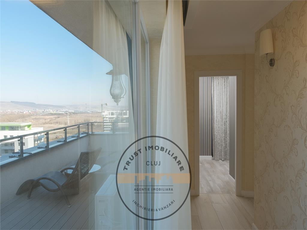 Penthouse ultrafinisat, 157mp, 4 camere, 2 garaje, Grand Park Residence