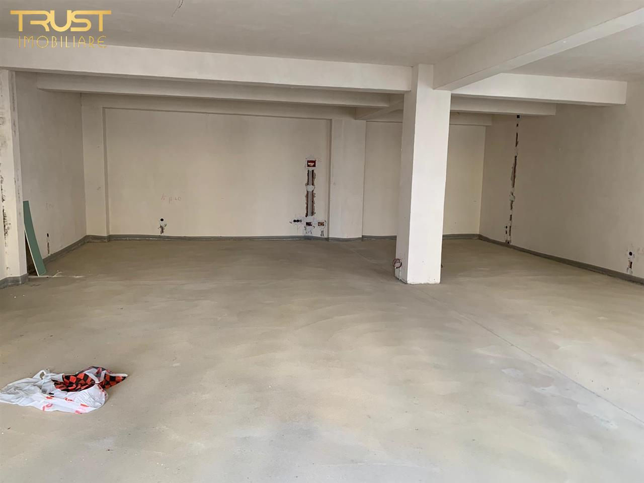 Spatiu Comercial, Central , 124  mp, Grup Sanitar