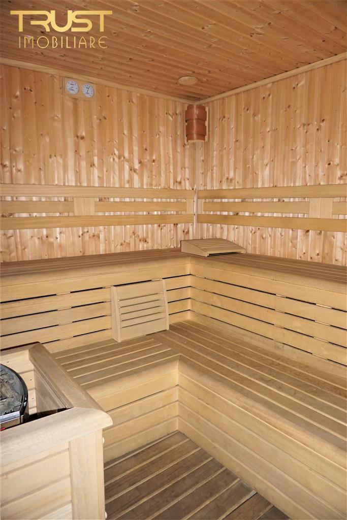 CASA Ultracentrala, D+P+E,350 MP, 5 bai ,Sauna