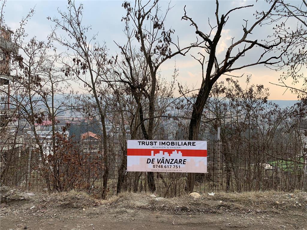 Teren Grigorescu 750 mp cu proiect , autorizaţie de constructie, panoramă