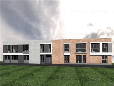 Teren cu autorizaţie de construire 480 mp, Imobil locuinte + spatii birouri
