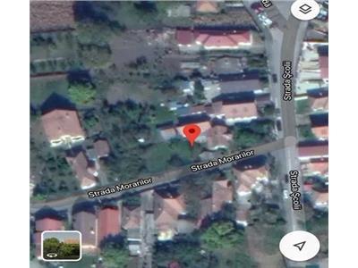 Teren 667mp, cu casa 48m front, zona Cordos