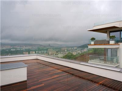 Penthouse Gruia,80 MP,Terasa panoramica-70 mp,  Prima Inchiriere