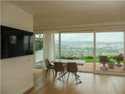 3 camere,View Superb,Gruia,Terasa, curte-300 mp, Garaj,terasa