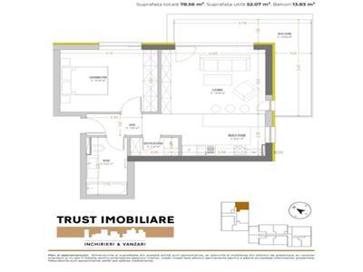 APARTAMENT 2 CAMERE, URBAN PLAZA cel mai nou proiect imobiliar din BRASOV!!