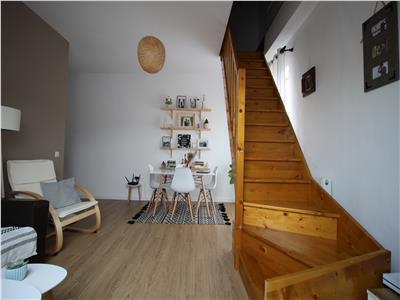 Apartament 3 camere pe 2 nivele, 80mp, str. Porii