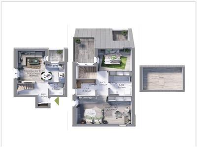 COMISION 0 Apartament 3 camere, Maurer Vilas