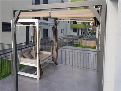 3 camere,60 mp,incalzire in pardoseala,Calea Turzii,terasa 80 mp,bloc nou